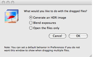 HDR software