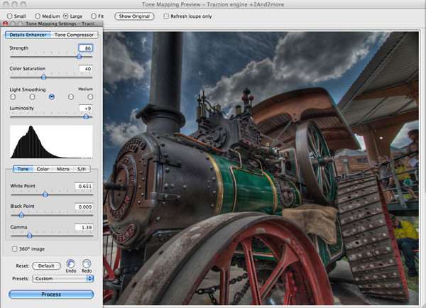 HDR tone mapping