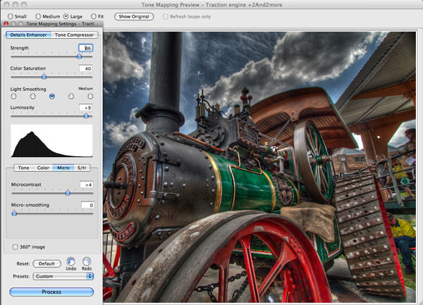 HDR processing